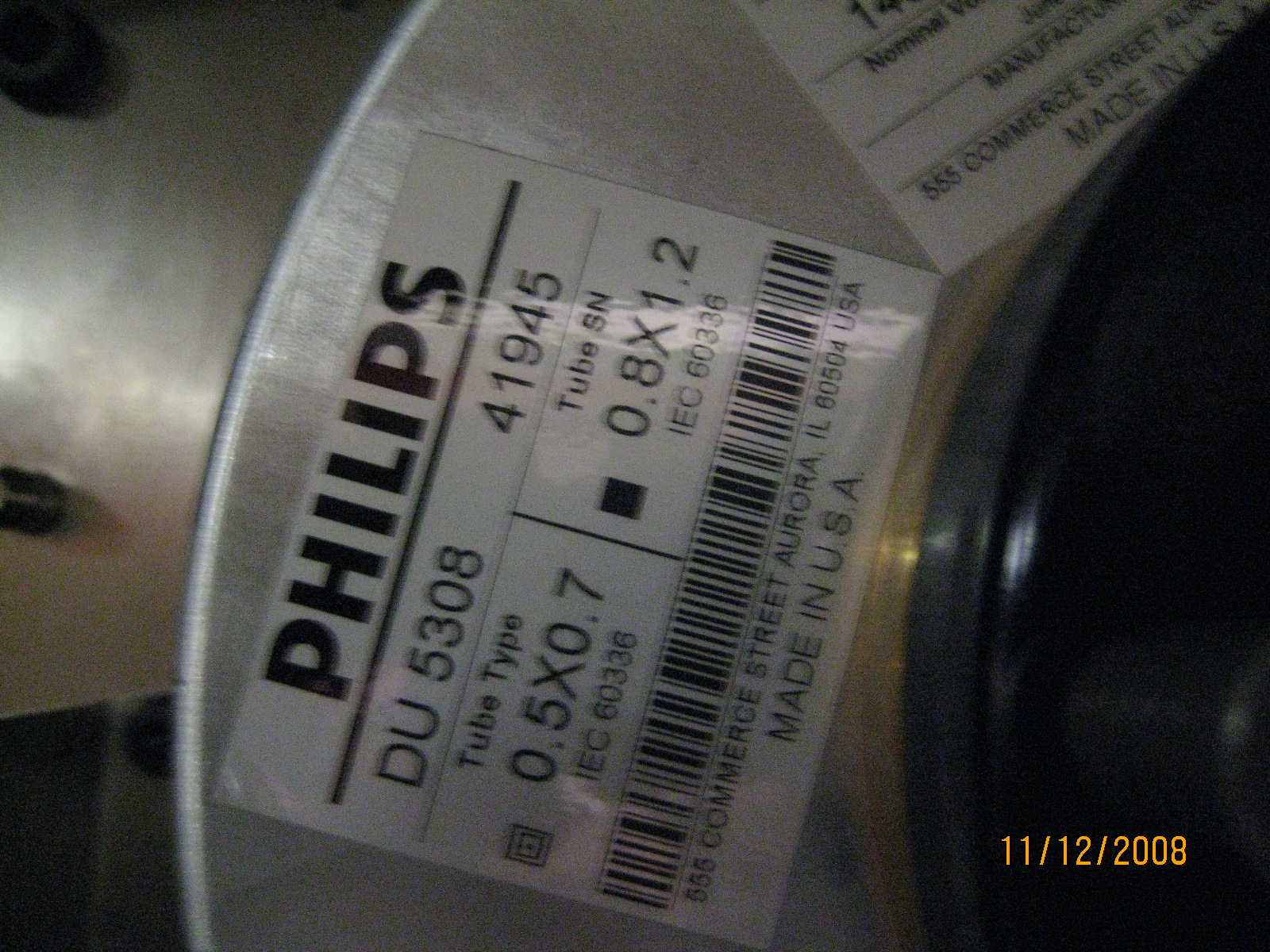 Philips Multislice X Ray Tube
